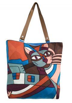 Τσάντα ώμου γάτα
