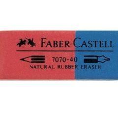 Γόμα Faber κόκκινη-μπλε