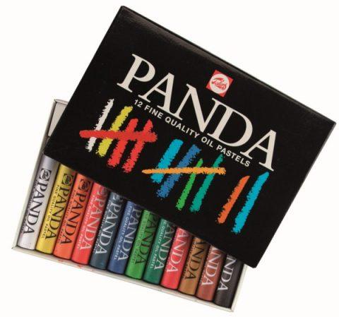 Λαδοπαστέλ 12 χρωμάτων Panda - Talens