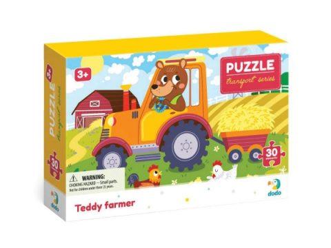 Puzzle Teddy Ο Αγρότης 30τμχ - Dodo