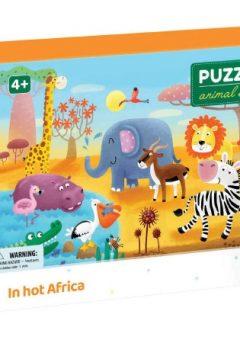 Puzzle Ζώα της Αφρικής  60τμχ - Dodo