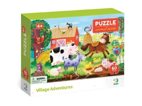 Puzzle Ζωάκια της φάρμα 60τμχ - Dodo