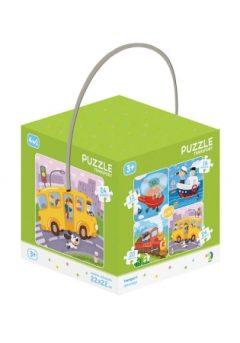 Puzzle 4 σε 1 : Μεταφορές – Dodo