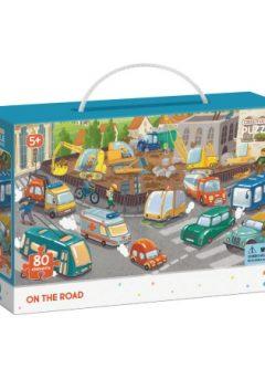 Puzzle Στο δρόμο 80τμχ- Dodo