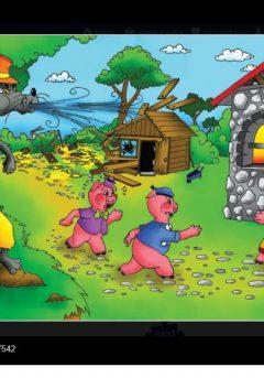 Puzzle Τα 3 γουρουνάκια 30τμχ