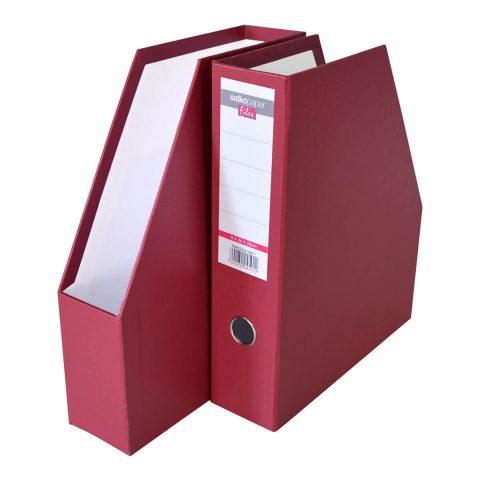 Κουτί κοφτό πλαστικό μπορντό -Salko