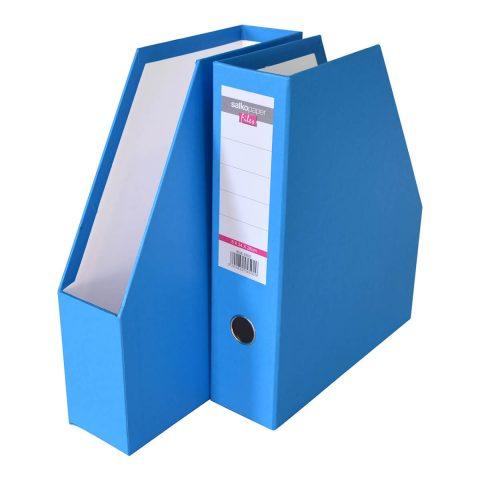 Κουτί κοφτό πλαστικό μπλέ -Salko