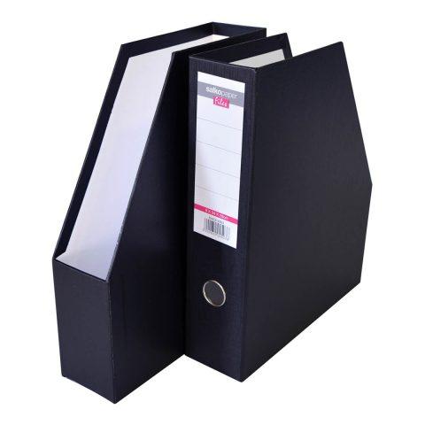 Κουτί κοφτό πλαστικό μαύρο -Salko
