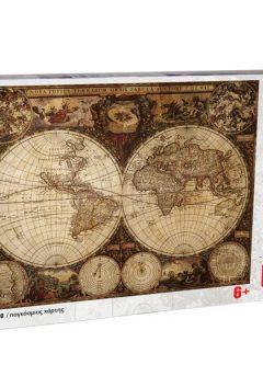 Puzzle Παγκόσμιος χάρτης 260τμχ