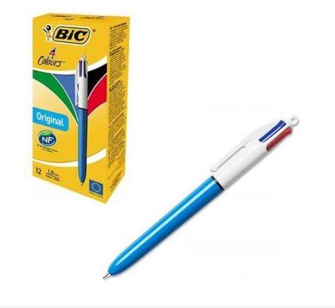 Στυλό διαρκείας 4 χρωμάτων bic