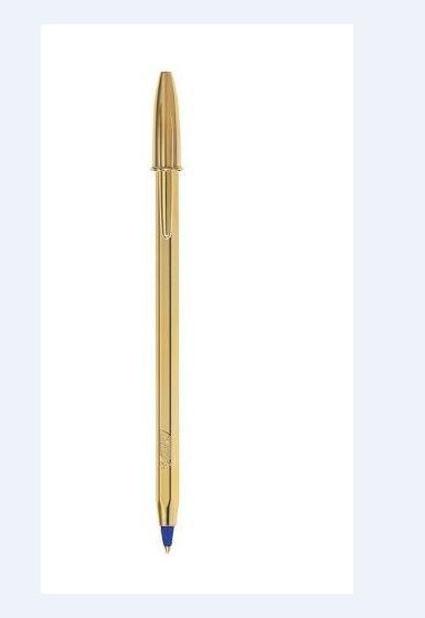 Στυλό Bic celebrate gold μπλε
