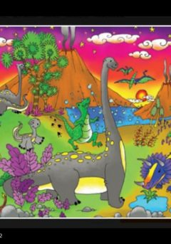 Puzzle Ο κόσμος των δεινοσαύρων 48τμχ