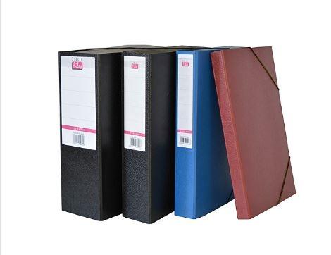 Κουτί αρχείου με λάστιχο fiber ράχη 3cm – Salko