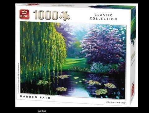 Puzzle Garden path  1000τμχ - King