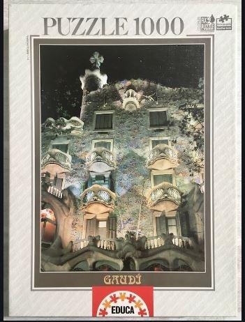 Puzzle Casa Batlló  Antoni Gaudí 1000τμχ - Educa
