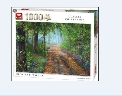 Puzzle In to the Woods 1000τμχ King