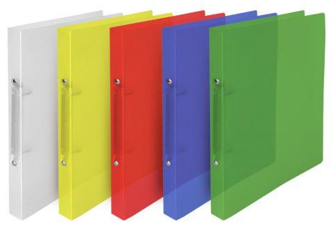Ντοσιέ  4κρικ PP Α4 κλασσικά και διάφανα χρώματα .