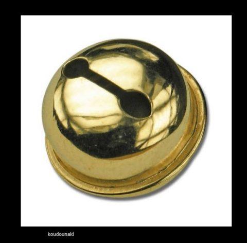 Κουδουνάκια χρυσά 13mm πακ. 11τμχ