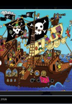 Puzzle Το καράβι των πειρατών 48τμχ
