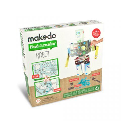 Κατασκευή ρομπότ - Makedo