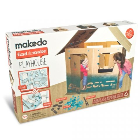Κατασκευή σπιτάκι - Makedo