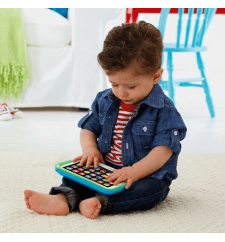 Εκπαιδευτικό Tablet μπλέ Laugh and Learn - Fisher Price