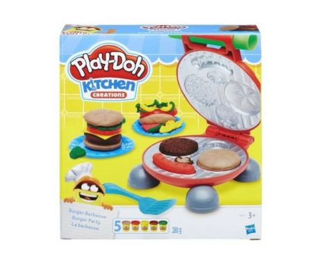 Play Doh Burger Μπάρμπεκιου σετ - Hasbro