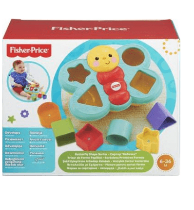 Πεταλούδα με Σχήματα - Fisher Price