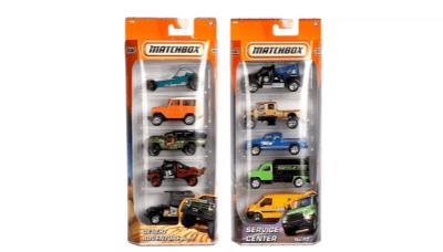 Matchbox Αυτοκινητάκια set των 5τμχ - Mattel