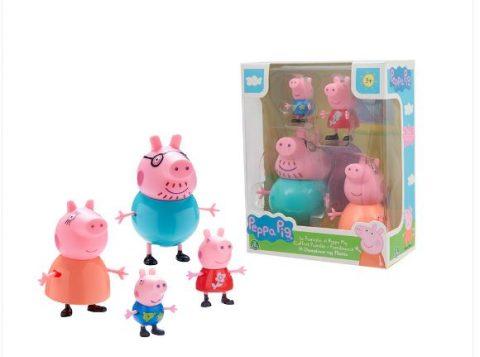 Peppa Pig : Φιγούρες Οικογένεια - Giochi Preziosi