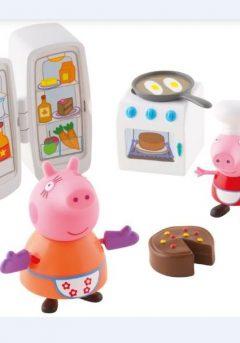 Peppa Pig: Κουζίνα με 2 φιγούρες -  Giochi Preziosi