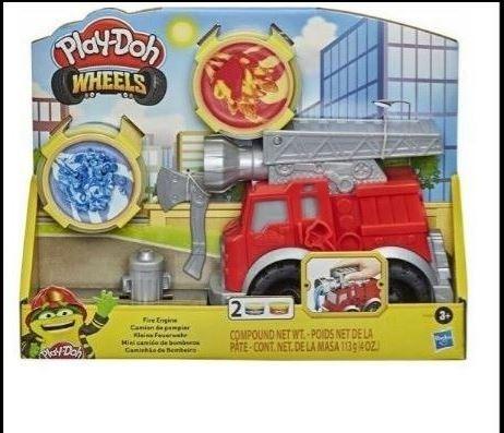 Play Doh Wheels Fire Engine - Hasbro