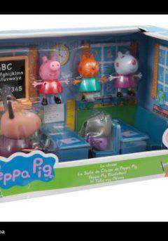 Peppa Pig: Η Τάξη της Πέππας και 5 φιγούρες - Giochi Preziosi