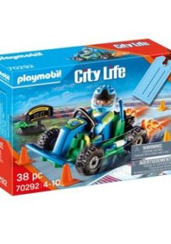 Gift set : Οδηγός με Go Cart - Playmobil