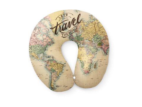 Μαξιλάρι Maps Travel -Total Gift