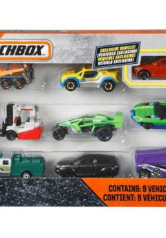Matchbox Αυτοκινητάκια σετ των 9 τμχ - Mattel