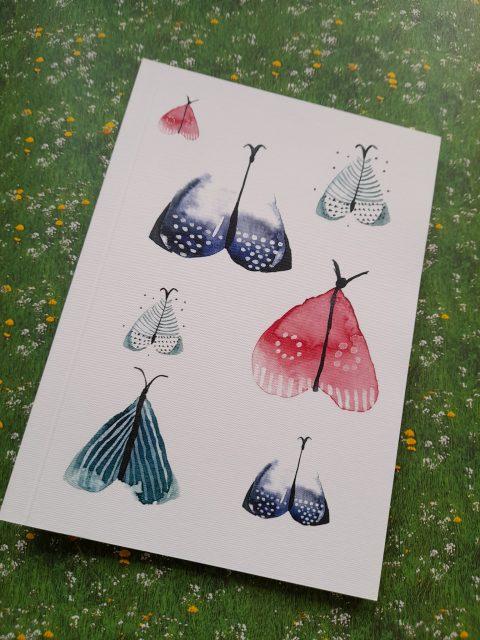 Σημειωματάριο Butterfly Α5 Λευκό - Elina Mayrommati