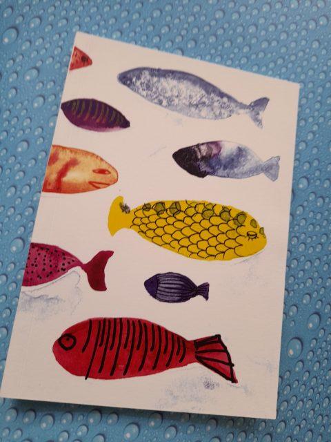 Σημειωματάριο Fish Α5 Λευκό - Elina Mayrommati