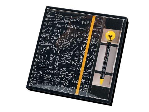 Σημειωματάριο σετ Math – Total Gift