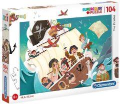 Puzzle Πειρατές 104τμχ - Clementoni