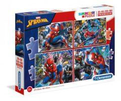 Puzzle Spiderman 4 σε 1  - Clementoni
