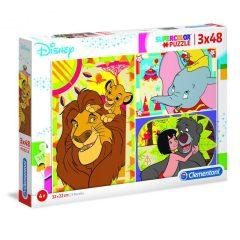 Puzzle Disney Classics 3×48τμχ – Clementoni