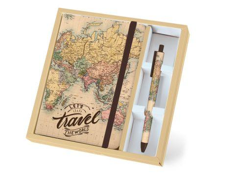 Σημειωματάριο σετ Maps - Total Gift