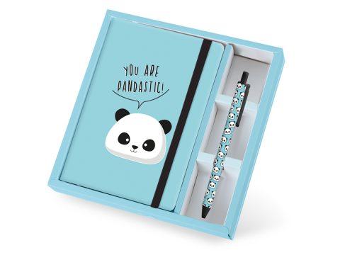Σημειωματάριο σετ Panda – Total Gift