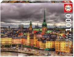 Puzzle Views of Stockholm 1000τμχ - Educa