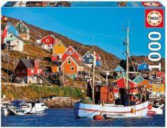 Puzzle Nordic Houses 1000τμχ - Educa