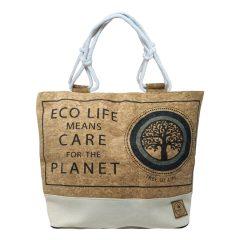 Τσάντα Φελλός Blue Collection Ecolife – Sungrace