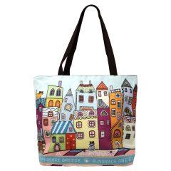 Τσάντα Artwork Houses B – Sungrace