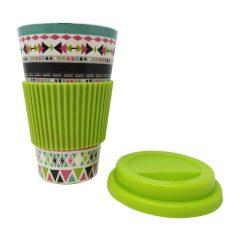 Κούπα Bamboo Modern Green Boho