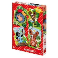 Puzzle Τα ζωάκια μου 4-12τμχ – Dino toys